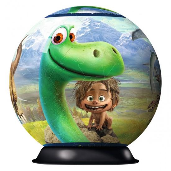 Puzzle Ball 3D 72 pièces : Le Voyage d'Arlo - Ravensburger-12175