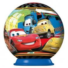 Puzzle ball 54 pièces : Cars 2 : Porto Corsa