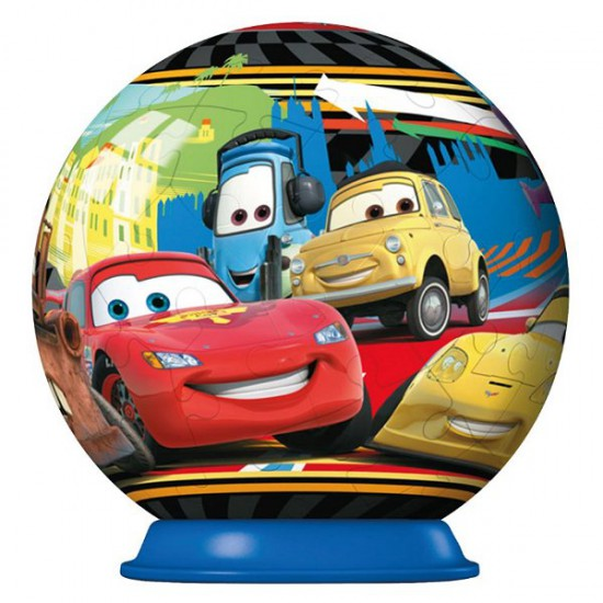 Puzzle ball 54 pièces : Cars 2 : Porto Corsa - Ravensburger-11894-1