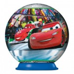 Puzzle ball 54 pièces : Cars 2 : Tokyo