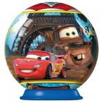 Puzzle ball 54 pièces : Cars 2 : Tour Eiffel