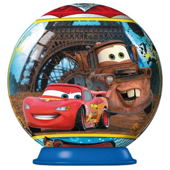 Puzzle ball 54 pièces : Cars 2 : Tour Eiffel - Ravensburger-11894-3