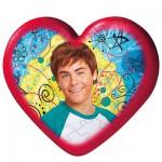 Puzzle ball 60 pièces coeur - High School Musical 2