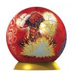 Puzzle ball 60 pièces - Gormiti : Armageddon et Nobilmantis
