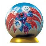 Puzzle ball 60 pièces - Gormiti : Devilfenix et Il Sommo Luminescente