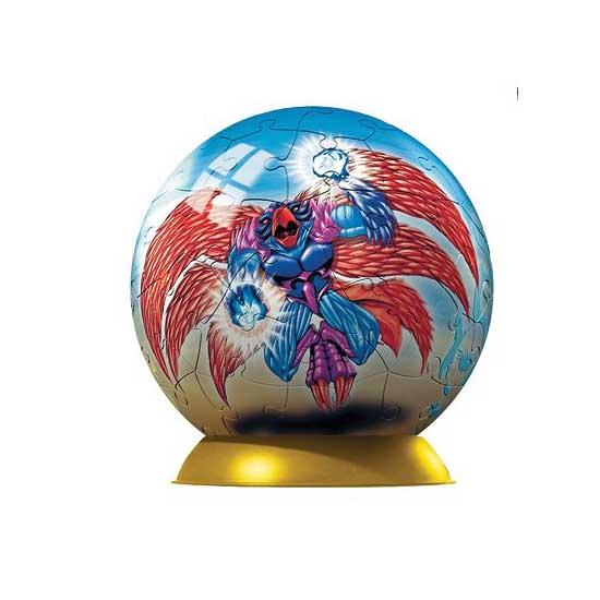 Puzzle ball 60 pièces - Gormiti : Devilfenix et Il Sommo Luminescente - Ravensburger-09691-3