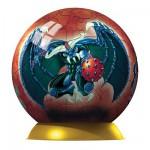Puzzle ball 60 pièces - Gormiti : Obscurio et Grandalbero