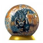Puzzle ball 60 pièces - Gormiti : Skorpios et L'antico Thorg