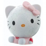 Puzzle ball 60 pièces - Hello Kitty : Jolie tête