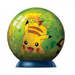 Puzzle ball 60 pièces - Pokémon : Pikachu