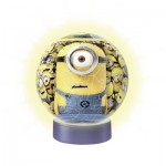 Puzzle Ball lumineux 72 pièces : Minions