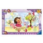 Puzzle cadre : 15 pièces : Dora s'amuse