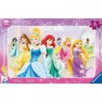 Puzzle cadre : 15 pièces : Nos princesses favorites