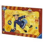 Puzzle cadre 15 pièces : Sam le pompier