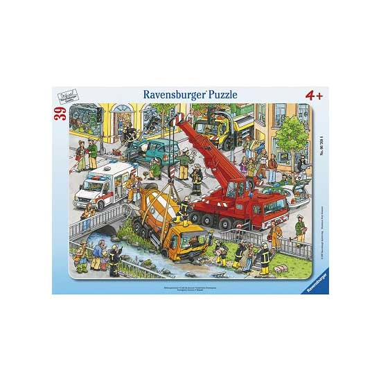 Puzzle cadre - 39 pièces : Unité de secours - Ravensburger-06768-A