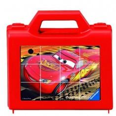 Puzzle 12 cubes : Cars 2
