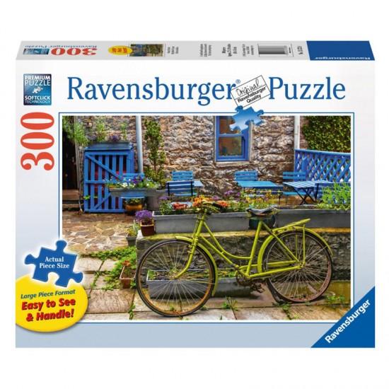 Puzzle de 300 pièces : Bicyclette vintage - Ravensburger-135738