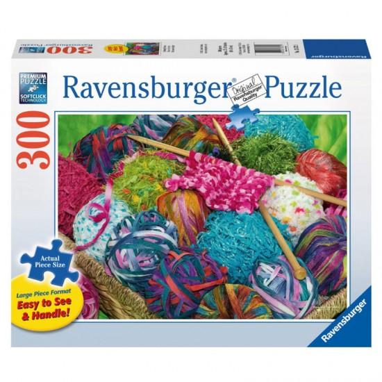 Puzzle de 300 pièces : Tricot - Ravensburger-135721