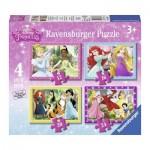 Puzzle évolutif 12 à 24 pièces : Princesses Disney