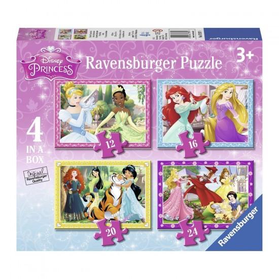 Puzzle évolutif 12 à 24 pièces : Princesses Disney - Ravensburger-07397