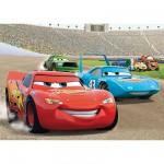 Puzzle Géant 125 pièces - Cars : La rage de vaincre