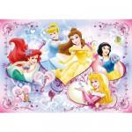 Puzzle Géant 125 pièces - Joyeuses princesses