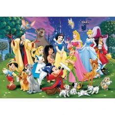 Puzzle Géant 125 pièces - Le monde magique de Disney