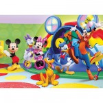 Puzzle Géant 125 pièces - Mickey et ses amis : C'est la fête