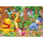 Puzzle Géant 125 pièces - Winnie l'ourson : Winnie dans la forêt