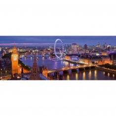 Puzzle Panoramique 1000 pièces : Londres de nuit