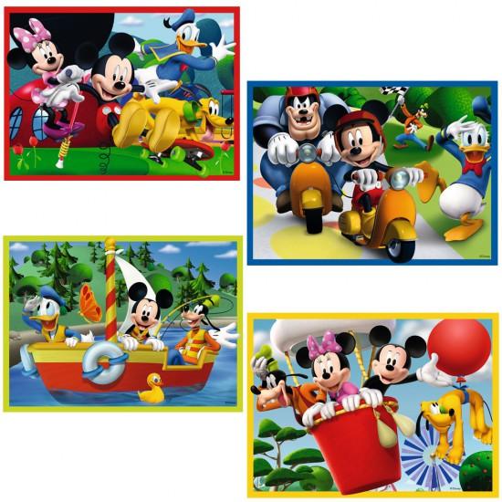 Puzzles de 12 à 24 pièces : 4 puzzles Mickey Mouse Club House - Ravensburger-07142