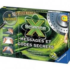 Science X : Messages et codes secrets