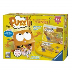 Tapis de puzzle : Puzzli