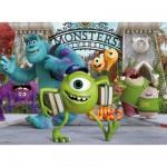 Puzzle 100 pièces XXL : Monstres Academy : Meilleurs amis