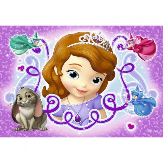 Puzzle 2 x 24 pièces : Princesse Sofia : L'aventure royale de Sofia - Ravensburger-09086