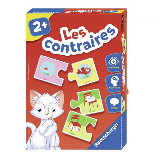 Puzzle duo : Les contraires - Ravensburger-24029