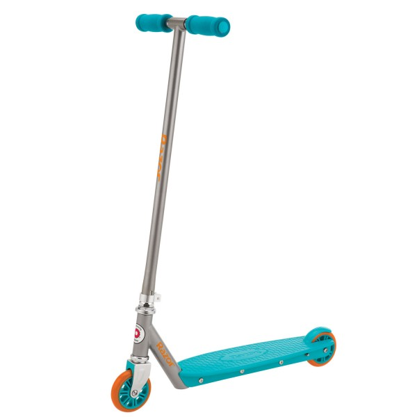 trottinette berry scooter turquoise et orange jeux et jouets razor avenue des jeux. Black Bedroom Furniture Sets. Home Design Ideas