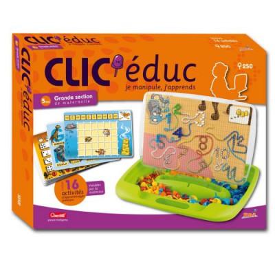 jeu de clous clic 39 educ grande section rbi magasin de jouets pour enfants