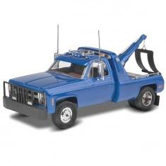 Maquette Camionnette dépanneuse '77 GMC