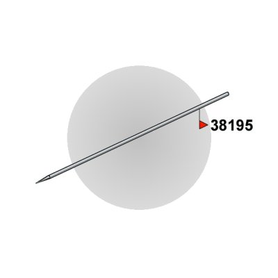 Aiguille Large Vega Single Action - Revell-38195