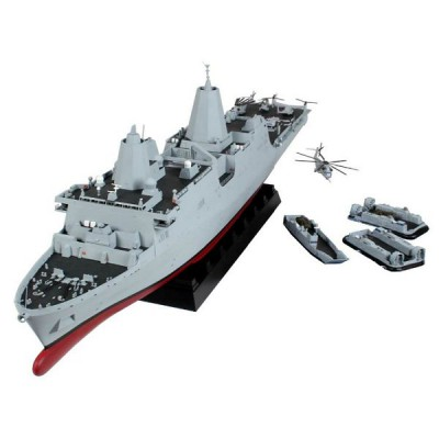 Maquette bateau : Amphibious Transport Dock U.S.S. New York - Revell-05118
