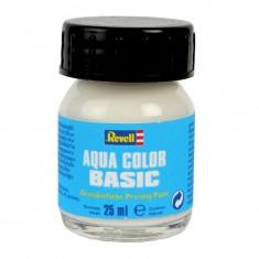 Peinture à base Aqua Color Basic: Flacon de 25 ml