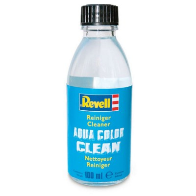 Nettoyeur de pinceaux Aqua Color Clean : Flacon de 100 ml - Revell-39620