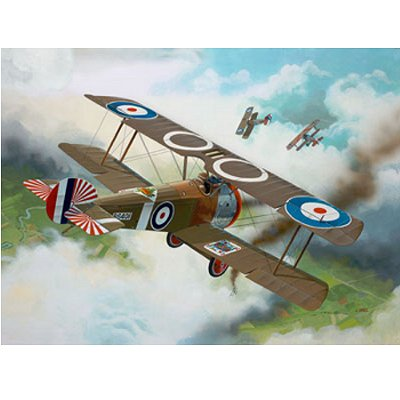 Maquette avion : Sopwith F1 Camel - Revell-04190