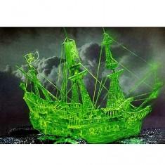 Maquette bateau: Bateau-fantôme Pirate