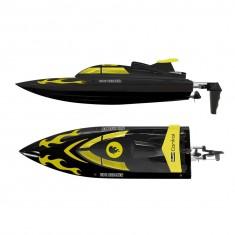 Bateau radiocommandé Tide Breaker I RTR : Noir et jaune