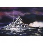 Maquette bateau: Bismarck 1/1200