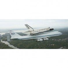 Maquette navette : Boeing 747 SCA & Space Shuttle