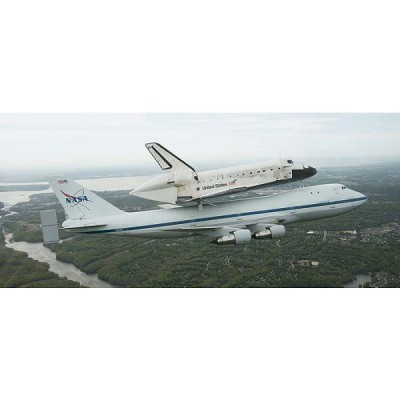 Maquette navette: Boeing 747 SCA & Space Shuttle - Revell-04863