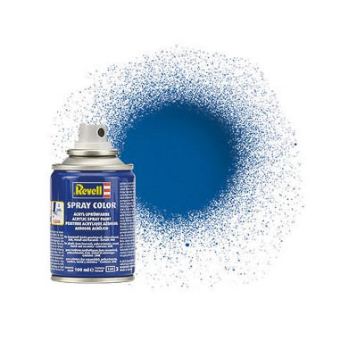 Bombe 100 ml : Bleu brillant - Revell-34152